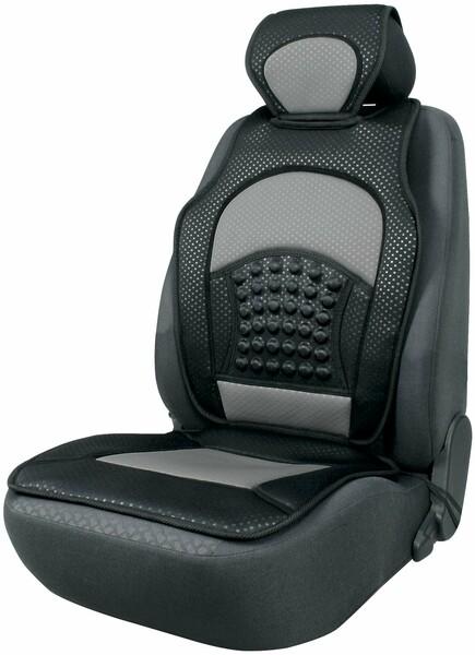 Sitzaufleger Space schwarz silber