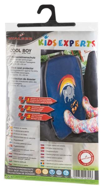 Rückenlehnenschutz Cool Boy blau