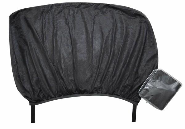 Sonnenschutz Window Sock, 2 Stück, schwarz