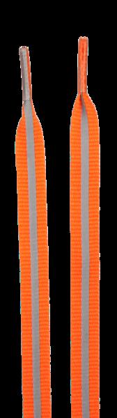 Reflektierende Schnürsenkel orange