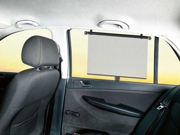 2 Stück Sonnenrollo für VAN und Transporter Seitenfenster - 53 x 56 cm