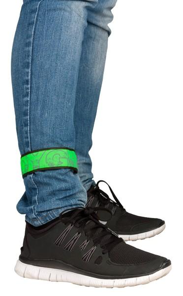 LED Klackband grün