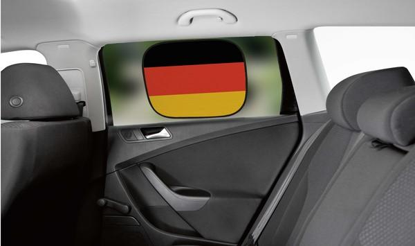 Sonnenschutz Seitenfenster mit Saugnapf Deutschland 45 x 34 cm