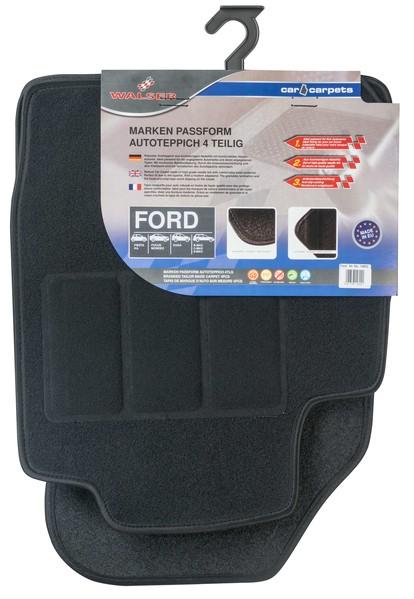 Automatten Fussmatten für Ford 4-teilig
