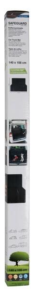Kofferraummatte Safeguard 140 x 108 cm schwarz