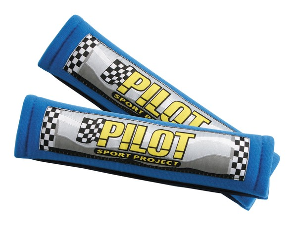 Seat Belt Pad Pilote blue