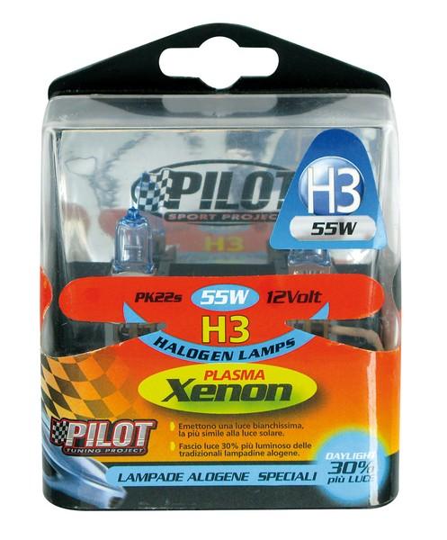 Xenon-H3 Halogen Lampen 55W 12V