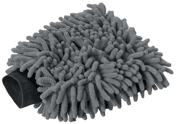 Waschhandschuh grau