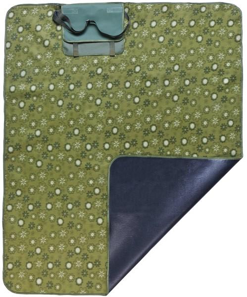 Reisedecke Picknickdecke Olivia grün 125x134cm