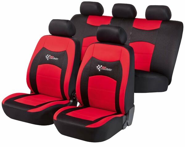 Autositzbezug RS Racing rot