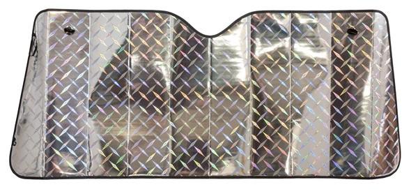 Front Sonnenschutz Laser Design 130 x 60 cm mit Luftkammern