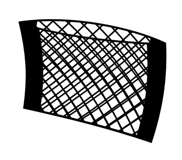 Stretch Netztasche selbstklebend 25x40 cm