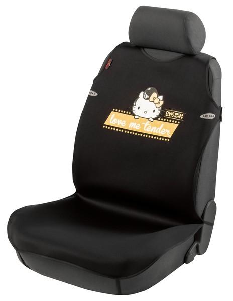 Auto Sitzbezug Universalgröße Hello Kitty Elvis Tuning Star schwarz