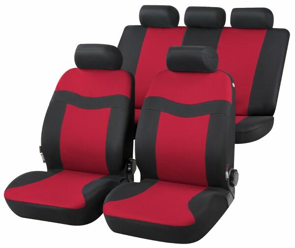Autositzbezug Rockford rot