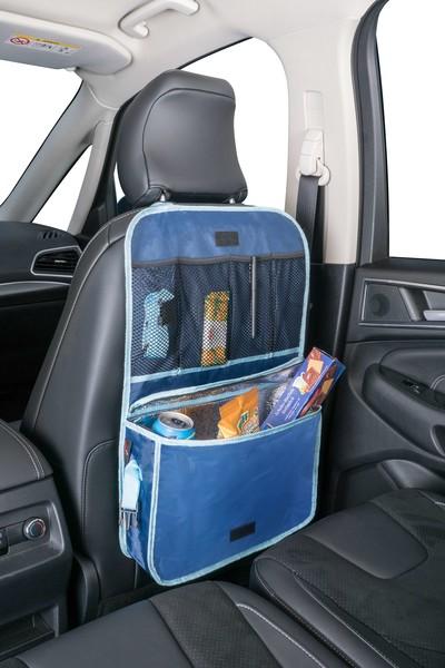 Organizer Rückenlehnentasche Coolerbag blau