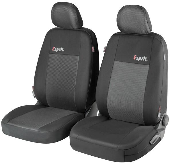 ZIPP IT Premium Esprit Autositzbezüge für Vordersitze mit Reißverschluss System