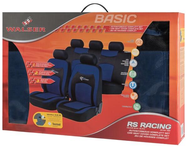 Autositzbezug RS Racing blau