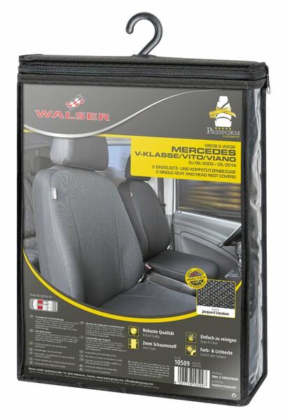 Sitzbezüge für Mercedes-Benz Viano W639 2 Einzelsitze ab Baujahr 06/2003 - 05/2014