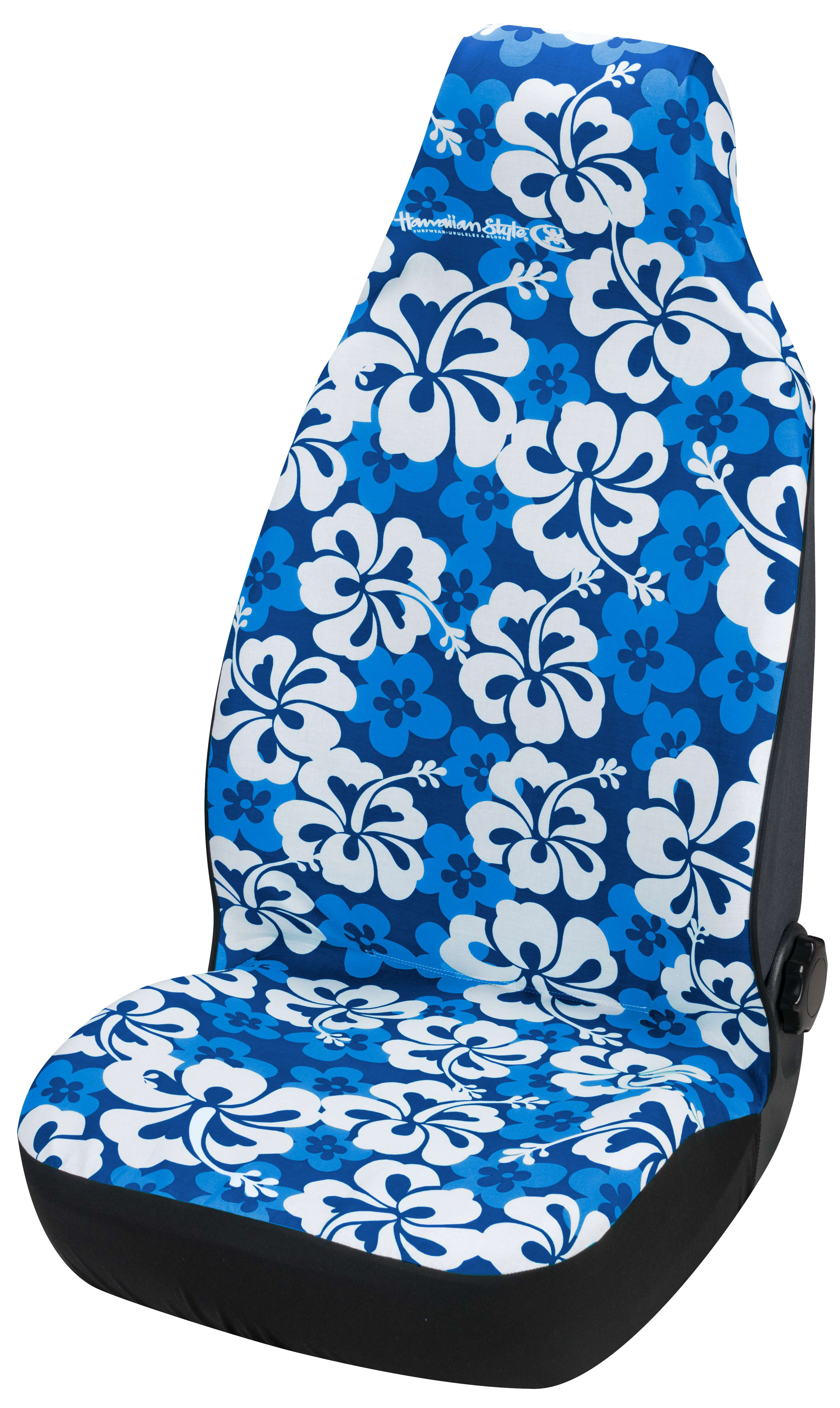 Hawaiian Car Seat Covers >> Car Seat Cover Hawaiian Blue