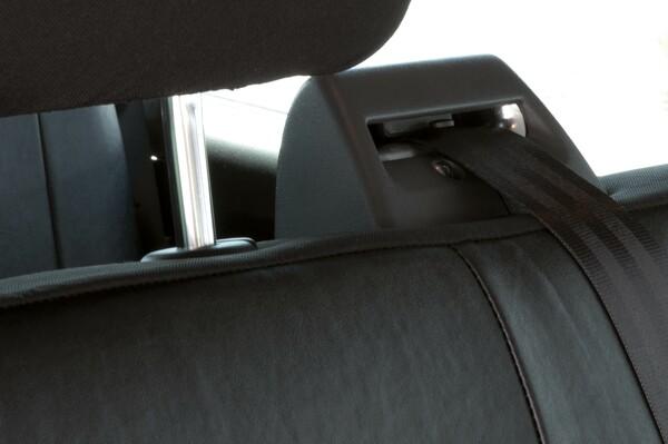 Sitzbezüge für VW T5 3er Bank aus Kunstleder passend ab Baujahr 04/2003-06/2015