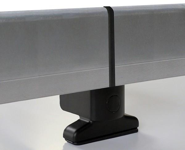 Universaler Dachträger aus Aluminium 127 cm silber