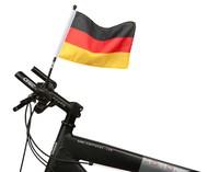 Fahrrad Fahne Deutschland 21 x 16 cm