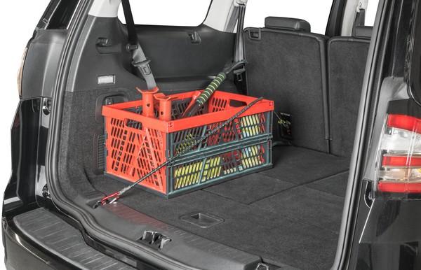 Gepäckspanner mit Karabiner 100 cm