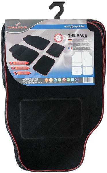 Autoteppich The Race schwarz / rot
