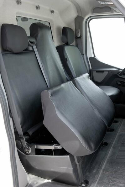 Sitzbezüge für Opel Movano Einzelsitz und Doppelbank vorne ab Baujahr 04/2010 - 2014
