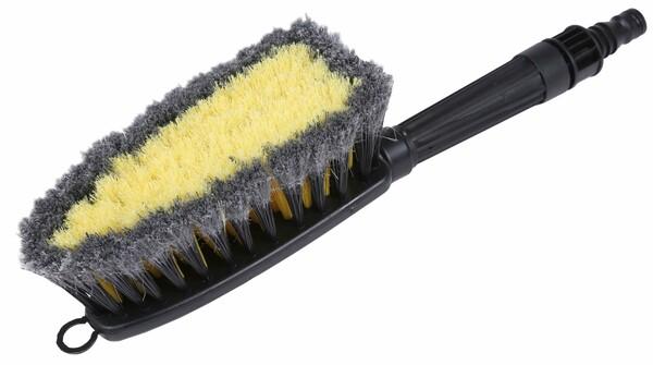 2in1 Waschbürste Universal mit Schlauchanschluss
