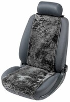 Sitzaufleger aus Lammfell Cosmo schwarz 12-14mm Fellhöhe