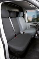 Sitzbezüge für VW T6 Doppelbank vorne aus Polyester ab Baujahr 07/2015 - heute