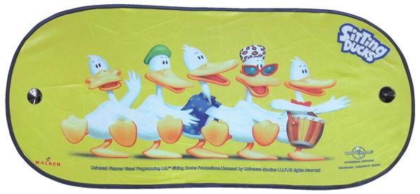 Sonnenschutzschild Sitting Ducks Dance Heckscheibe 100x44cm