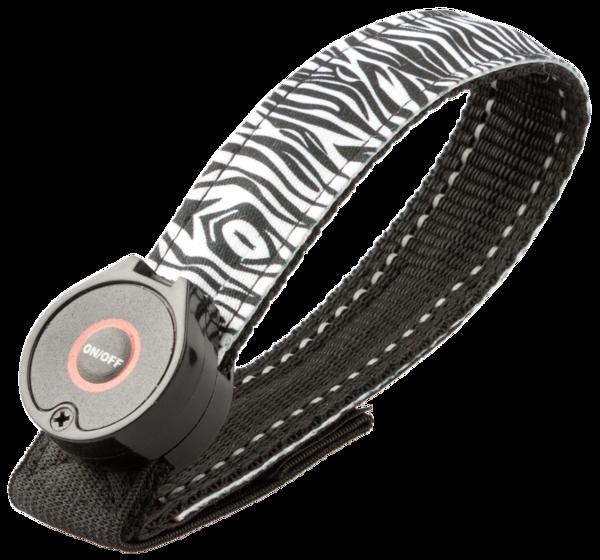 Soft LED Armband Zebra