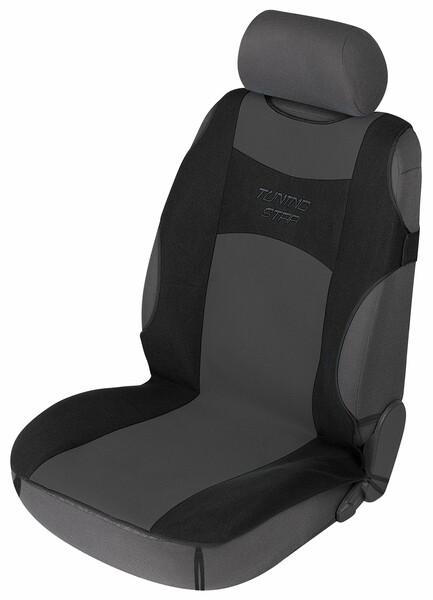 Auto Sitzbezug Universalgröße Tuning Star anthrazit schwarz