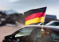 Fensterfahne Deutschland
