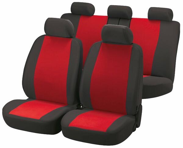 Autositzbezüge Classic rot