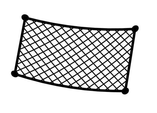 Elastische Netztasche 18x30 cm