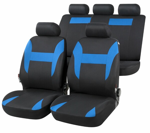 Autositzbezug Nampa blau