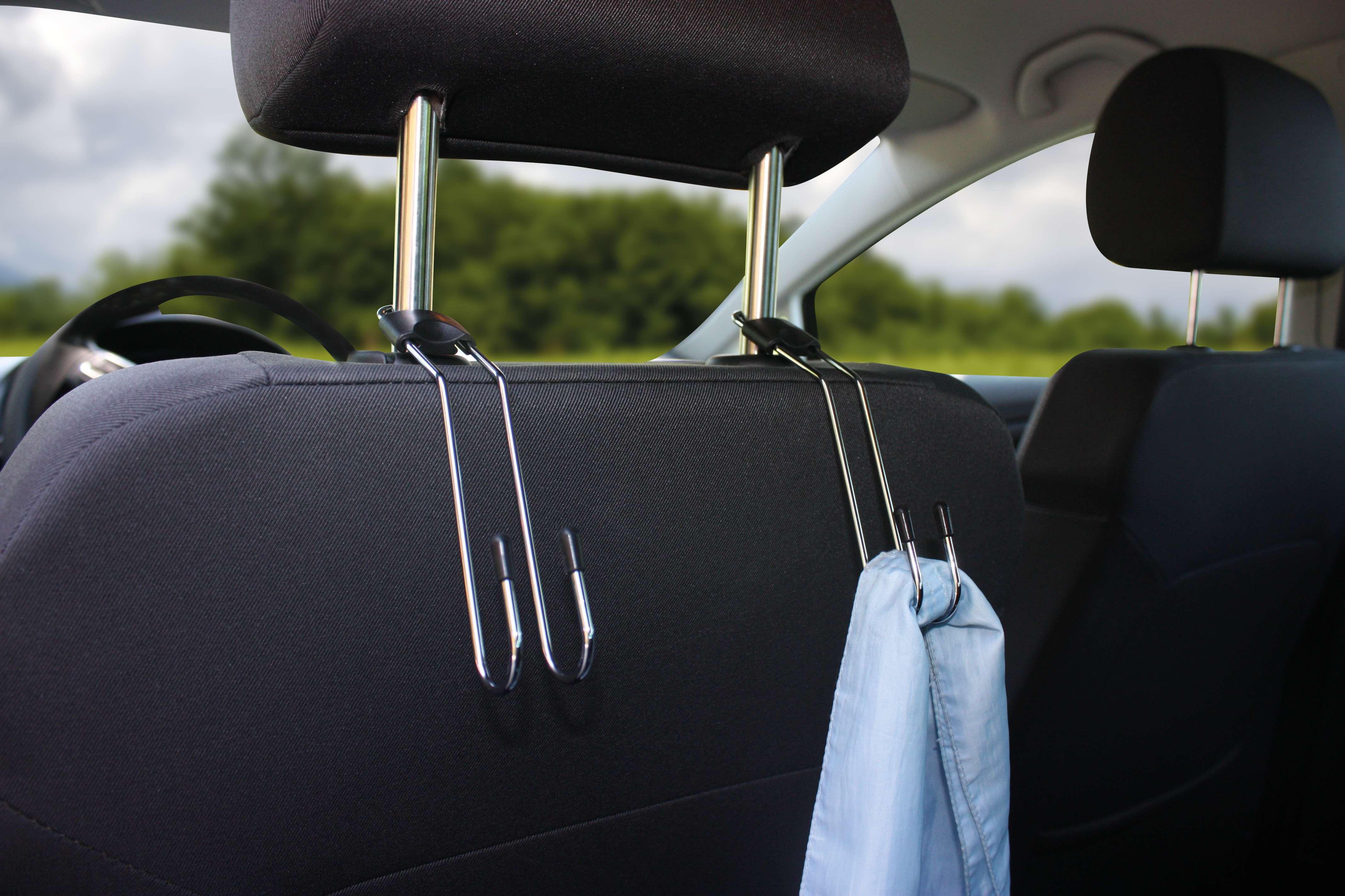 Kopfstützenhaken Haken Kleiderhaken Haken für Einkaufstaschen 2 Stück