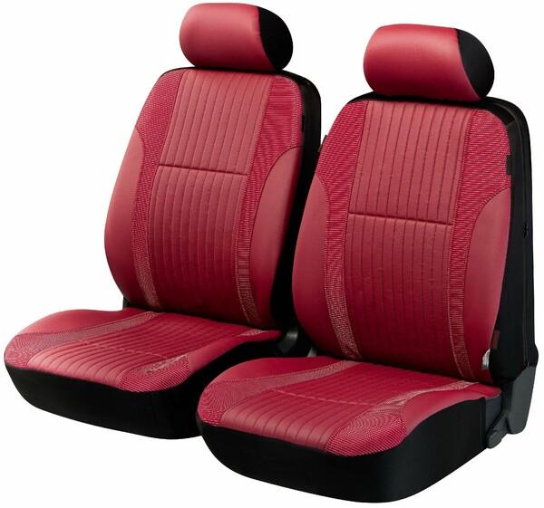ZIPP IT Deluxe Medway Auto Sitzbezüge aus Kunstleder für Vordersitze mit Reissverschluss System