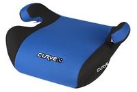 Kindersitzerhöhung Curve blau / schwarz