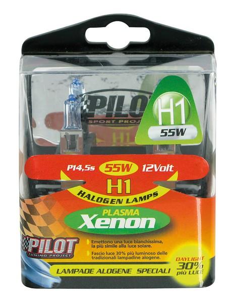 Xenon-H1 Halogen Lampen 55W 12V