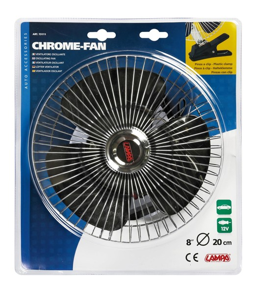Chrom Ventilator 12V