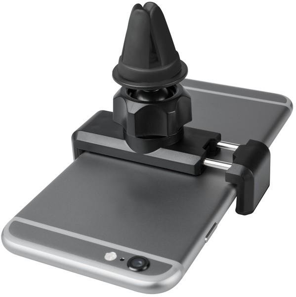 Telefonhalter Clip it ca. 73x67x31 mm 54-85 mm breite schwarz