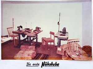 Walser GmbH erste Nähstube Autositzbezüge 1979