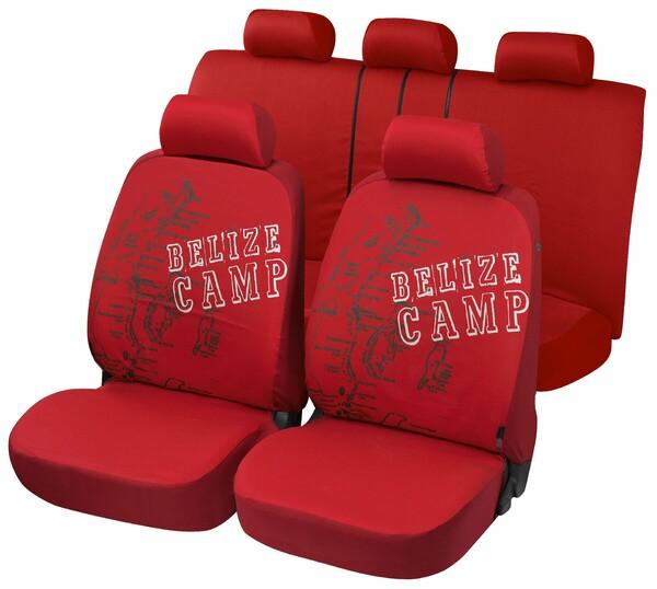 "Autositzbezug ""Belize"" Komplett Set aus Baumwolle"