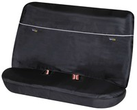 Rückbank Schonbezug Universalgröße mit Gurtführung Outdoor Sports schwarz